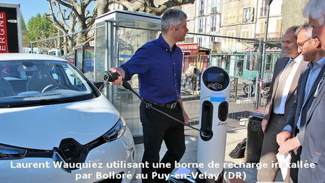 Bornes de recharge : le déploiement se poursuit | Crakks | Scoop.it