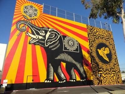 Shepard Fairey, la propagande bicolore | Street Art, échappatoire de l'oeil | Scoop.it