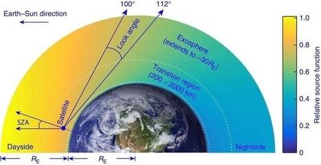 Hidrógeno en la termósfera obliga a replantear modelos atmosféricos | CTMA | Scoop.it