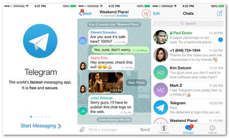 Telegram: una alternativa segura y abierta a WhatsApp   SERENDIP   Scoop.it