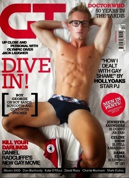 Il compagno di Tom Daley in copertina per Gay Times! | JIMIPARADISE! | Scoop.it