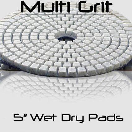 5 inch wet drypolishing pads | Diamond Polishing Pads, STADEA | Scoop.it