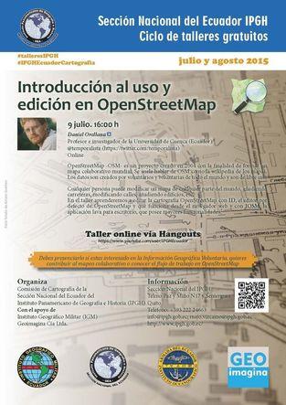 Introducción a la edición en OpenStreetMap