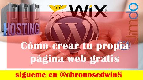 Página web gratis. Cómo crearla - eortiz.com.co | Educacion, ecologia y TIC | Scoop.it