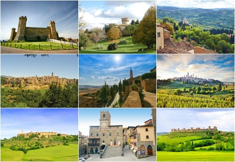 Tuscany most beautiful hilltop medieval villages | Italia Mia | Scoop.it