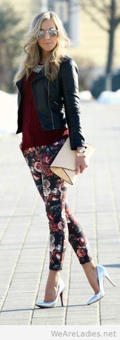 Awesome floral pants   Pintast   Scoop.it