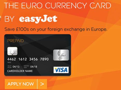 EasyJet lance une carte de paiement en euros - Air-Journal | easyjet | Scoop.it