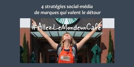4 stratégies social-média de marques qui valent le détour | Institut Pellerin Formation | Marketing digital - campagnes digitales - réseaux sociaux | Scoop.it