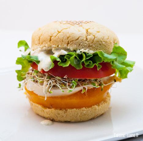 Recette vapeur au vitaliseur : burger poulet sauce curry | Recettes épicuriennes | Scoop.it