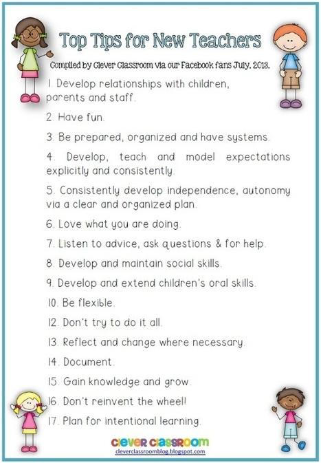 17 Tips For New Teachers From Experienced Teachers | Aprendiendoaenseñar | Scoop.it