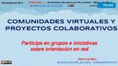 ¿Cómo participar en comunidades virtuales y proyectos sobre orientación? | Orientación Educativa - Enlaces para mi P.L.E. | Scoop.it