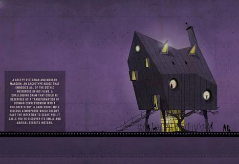 federico babina animates imaginary homes of movie directors | El Mundo del Diseño Gráfico | Scoop.it