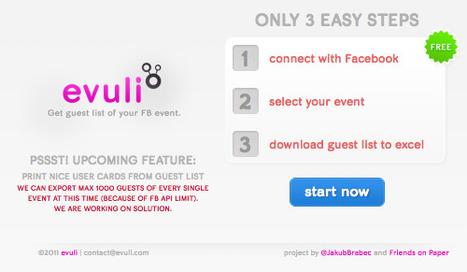 Téléchargez la liste des invités de votre événement Facebook | Misc Techno | Scoop.it