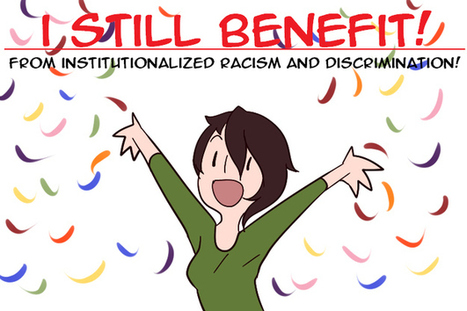 This Comic Perfectly Explains What White Privilege Is | Infographics4Me | Scoop.it