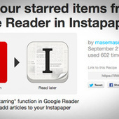 Automatically Send Starred Google Reader Articles to Pocket or ... | RoseDrop Rust Professional Copywriting | Scoop.it