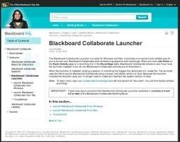 EduTip: Blackboard Collaborate Launcher for MAC & PC - EduTips   CCC Confer   Scoop.it