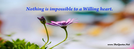 Facebook Cover Image - Motivational quotes - TheQuotes.Net | Facebook Cover Photos | Scoop.it