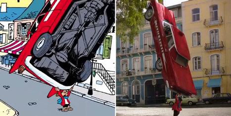 """""""Benoit Brisefer les taxis rouges"""" : que devient la BD à l'écran ? - Europe1   Art#9   Scoop.it"""