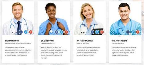 Health Guide Joomla 3.x Template for Doctors & Hospitals | Premium Joomla Templates | Scoop.it