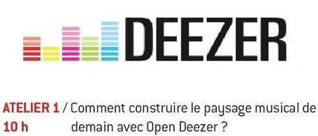 Workshop Deezer @ Radio 2.0 Paris (18 Oct / Ina) | Radio 2.0 (Fr & En) | Scoop.it