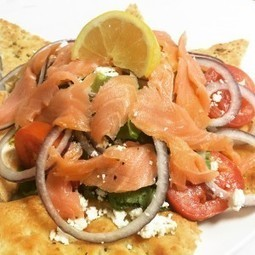 Smoked Salmon Salad | Pizza Recipes | Scoop.it