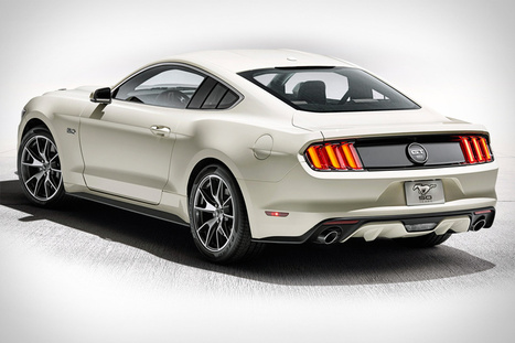 [Cars] 2015 Ford Mustang 50th Anniversary Edition | Lifestyle & Inspiration | Scoop.it