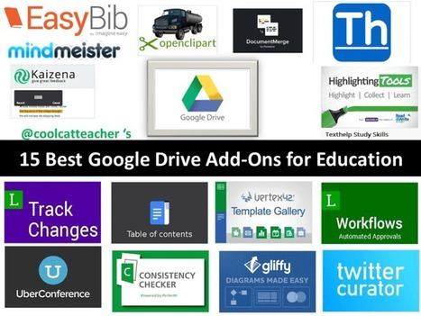 15 Best Google Drive Add-Ons for Education | My K-12 Ed Tech Edition | Scoop.it