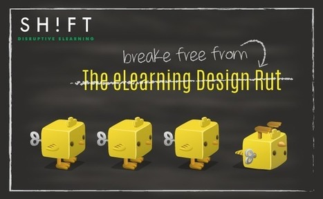 eLearning Design Hacks: How to Get Out of a Creative Rut | APRENDIZAJE | Scoop.it