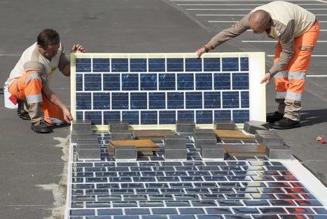 Colas transforme les routes en panneaux photovoltaïques - BTP - Construction | SerenDeep | Scoop.it