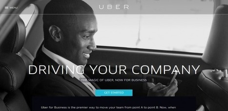 Uber Joins Airbnb in Business Class: The Sharing Economy Grows Up | Transition Point! | Scoop.it