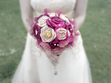Teacup Bridal   Fabric Bouquet   Scoop.it