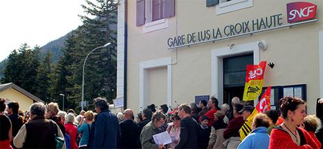 MW à Lus pour la défense de la ligne TER Grenoble Gap | montagne et développement durable | Scoop.it