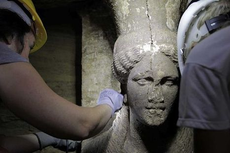 Stunning Alexander-era statues found at ancient tomb   Teaching history and archaeology to kids   Scoop.it