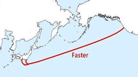 «Faster» : le Japon et les États-Unis s'envoient un câble | Technologies numériques et innovations | Scoop.it