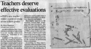 Teachers Deserve EFFECTIVE Evaluations « Coalition for ... | Education- Evaluation | Scoop.it