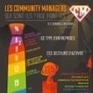 Infographie : Les community managers : que font-ils ? Qui sont-ils ? | PRESENCE WEB MARKETING | Scoop.it