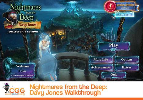 Nightmares from the Deep: Davy Jones Walkthrough: From CasualGameGuides.com | Casual Game Walkthroughs | Scoop.it