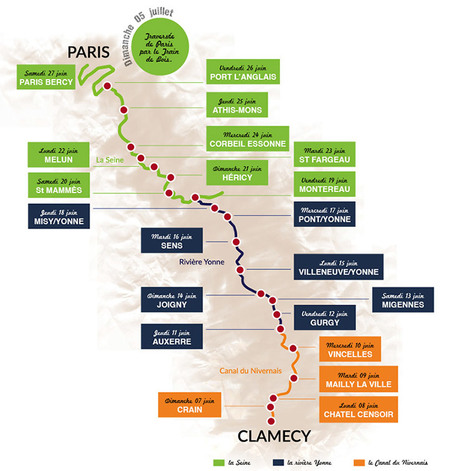 Événement 2015 : Un Train de Bois pour Paris - 7 juin > 5 juillet | Nos Racines | Scoop.it