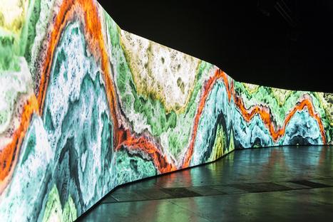 Questa installazione immersiva trasforma i suoni della Terra in psichedelia pura | The Creators Project | metrobodilypassages | Scoop.it