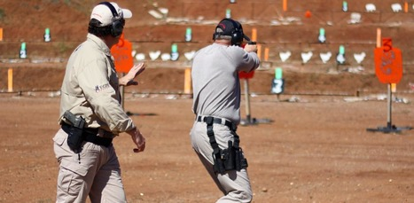 Tactical Pistol Shooting on the Move - Angles and Movements | Firearm Training, Gun Safety and Unarmed Courses | Scoop.it