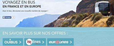 Voyages-sncf.com élargit son offre bus avec l'intégration d'isilines et d'Eurolines | Etourisme et social média | Scoop.it