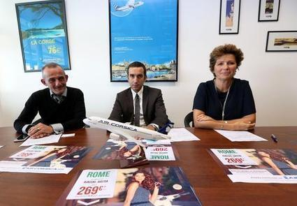 Un parfum romain dans les vols d'Air Corsica en mai et en juin | Culture et Loisirs | Scoop.it