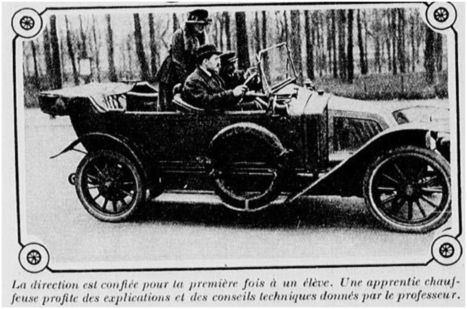Passer son permis de conduire en 1920 | GenealoNet | Scoop.it