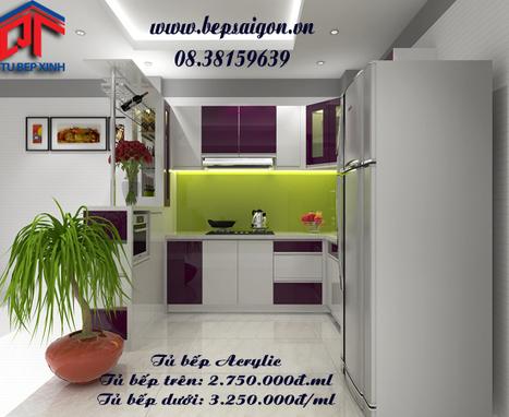 tubep_bsg_9_1416282993.jpg (550x450 pixels)   Tủ bếp 2014 mang phong cách hiện đại.   Scoop.it