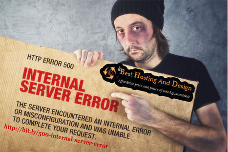 What is a 500 internal server error and how to fix it? | Problogging Tips | Scoop.it