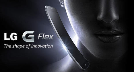 The LG G Flex: first ever curved smartphone | Stock News Desk | Scoop.it
