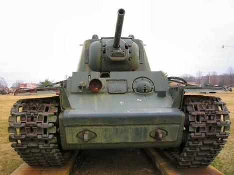 KV-1 - Walk Around | History Around the Net | Scoop.it