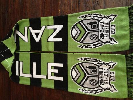 Twitter / ZanesvilleAFC: #ZAFC scarves have arrived!! ... | WAMPUS | Scoop.it