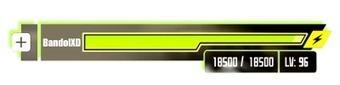 Health Bar ( Sword Art Online ) - BandolXD's Request   Arts & Design   Scoop.it