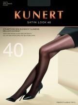 Kunert - Semi-heltäckande glansig strumpbyxa Satin Look 40 utan mönster | strumpbyxor boutique | Scoop.it